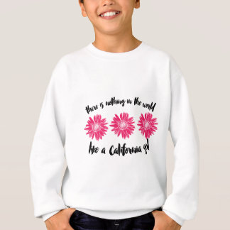 California girl sweatshirt