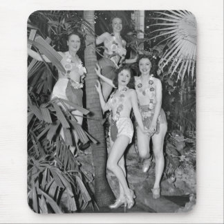 California Girls, 1930s Mouse Pad