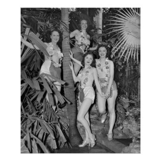 California Girls, 1930s Poster