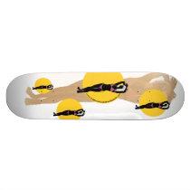 California Girls Skateboards - Courtney Logo