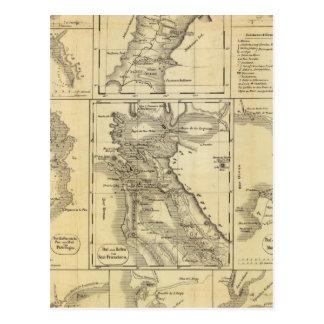 California Gold Rush Postcards