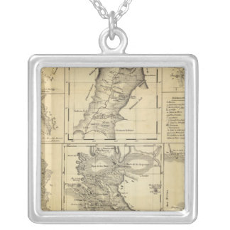 California Gold Rush Silver Plated Necklace