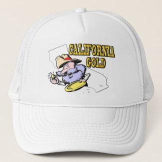 CALIFORNIA GOLD TRUCKER HAT