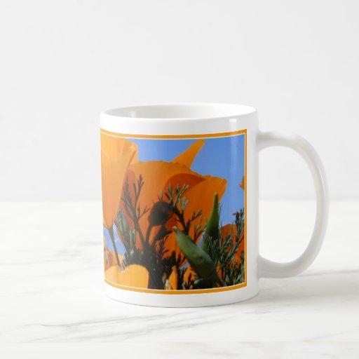 California Golden Poppies Mug