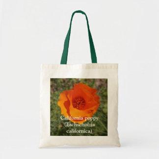 California Golden Poppy, California poppy (Esch... Budget Tote Bag