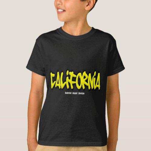 California Graffiti T_Shirt