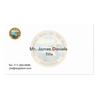 California Great Seal Double-Sided Standard Business Cards (Pack Of 100)