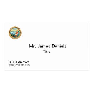 California Great Seal Business Card Templates