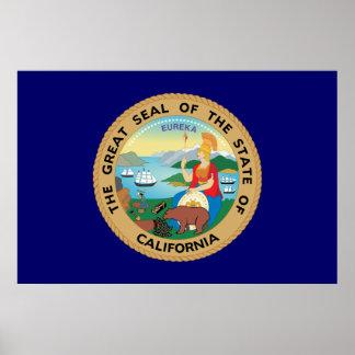 California Great Seal Posters