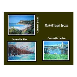 California Greetings - Postcard