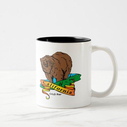 California Grizzly Two-Tone Coffee Mug