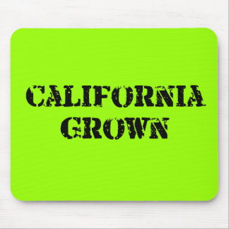 California Grown Mouse Pad