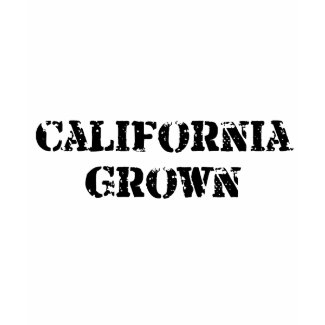 California Grown shirt