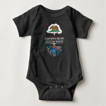 California Grown with Galician Roots Baby Bodysuit