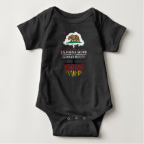 California Grown with German Roots Baby Bodysuit