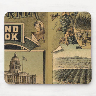 California hand book mouse pad
