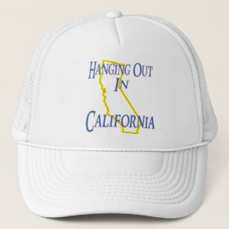 California - Hanging Out Trucker Hat