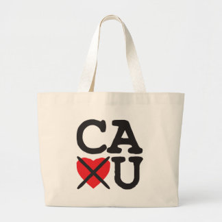 California Hates You Large Tote Bag