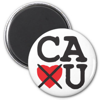 California Hates You Magnet