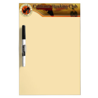California Hawking Club Logo Dry-Erase Board