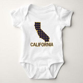 California Hearts Baby Bodysuit