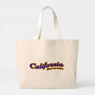 California - Here we come Large Tote Bag