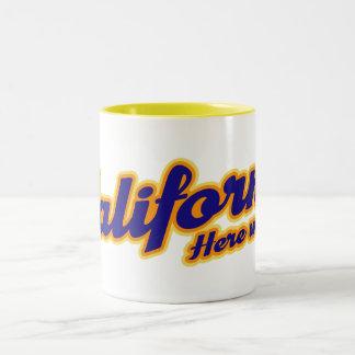 California - Here we come Two-Tone Coffee Mug