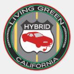 California híbrida etiqueta