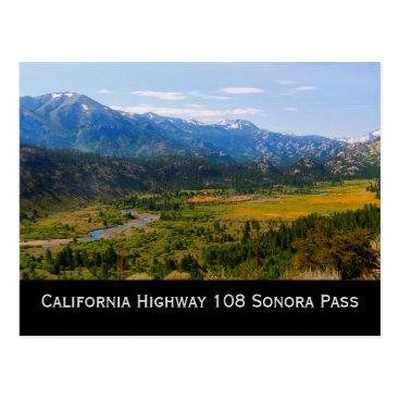 tianxinzheng California Highway 108 Sonora Pass Postcard