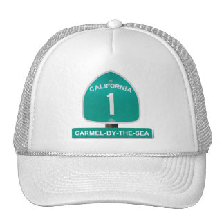 California Highway 1 Carmel By The Sea Hat