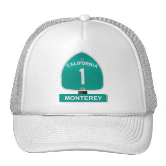 California Highway 1 Monterey Hat