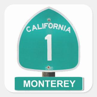 California Highway 1 Monterey Stickers