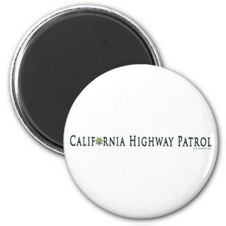 California Highway Patrol magnet