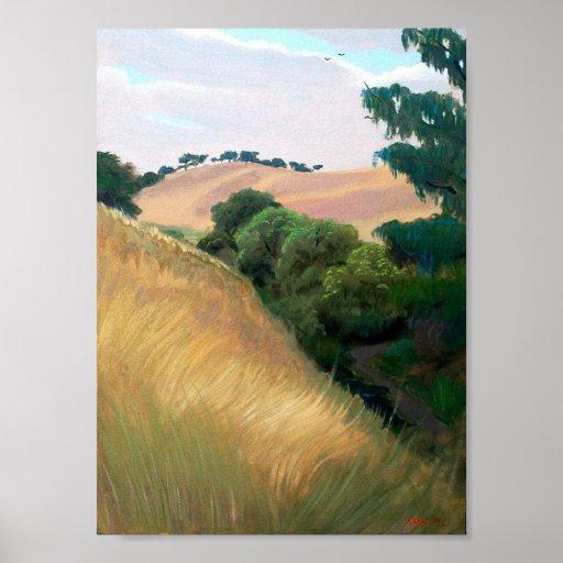 California Hills Posters