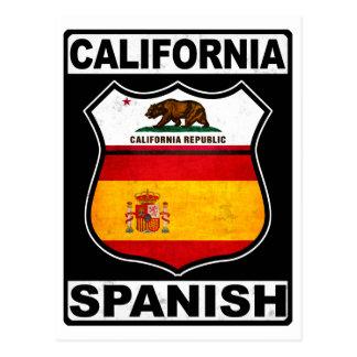 California hispanoamericana tarjeta postal