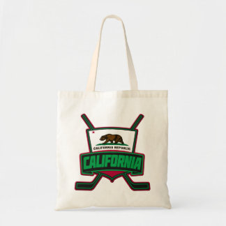 California Hockey Logo Shield Tote Bag
