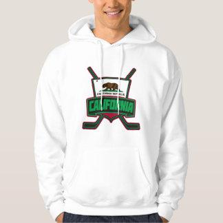 California Hockey Shield Logo Hooded Pullover