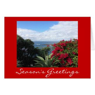 California Holidays Greeting Card