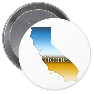 California Home Horizon 4 Inch Round Button