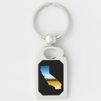 California Home Horizon Keychain