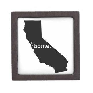 California Home Jewelry Box