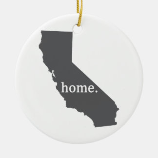 California Home Products Ceramic Ornament