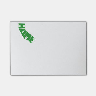 California HOME state Post-it Notes