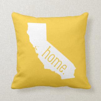 California Home State Throw Pillow