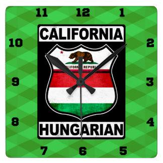 California Hungarian American Clock