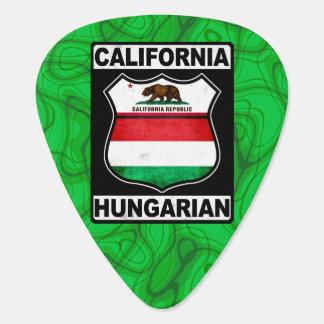 California Hungarian American Guitar Pick