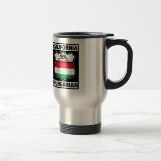 California Hungarian American Travel Mug