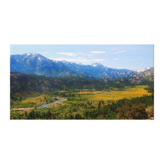 California HWY 108 Sonora Pass Canvas Print