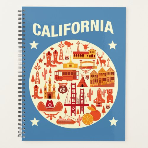 California Icons Planner