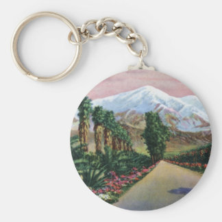 California in Midwinter Key Chains
